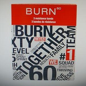 Burn resistance bands